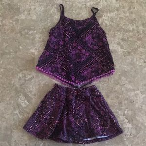 Epic Threads skirt and tank set